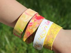 Craft Stick Bangle