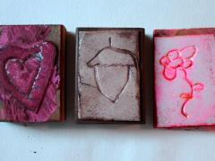 Styrofoam Stamps