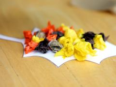 Magnetic Tissue Paper Leaves