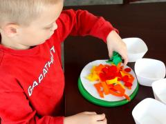 Felt Pizza Pretend Play