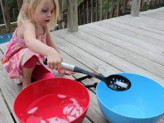 Toddler Science Experiment