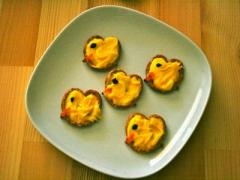 Easter Chick Pretzels