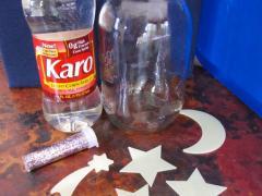 Glitter Star Jars