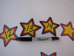 Number Stars Flashlight Game