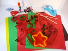 Easy Cookie Cutter Christmas Decorations