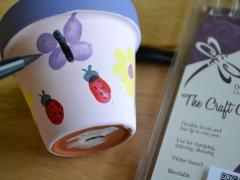 Mother's Day Thumbprint Pots