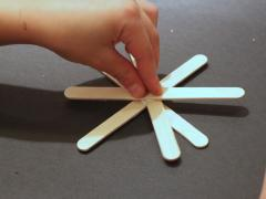 Popsicle Stick Fireworks