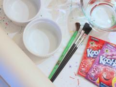 Kool-Aid Watercolors