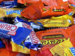 Halloween Candy Graphs