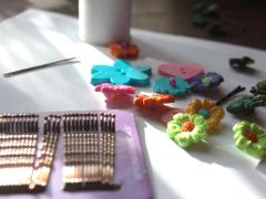 Button Hairpins