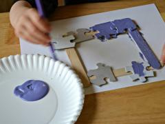 Puzzle Piece Frame