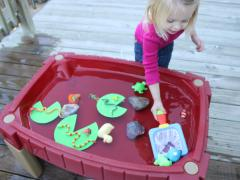 Frog Pond Water Play