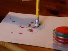 Stamp Pad & Eraser Art