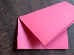 Folded Paper Stars