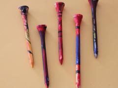TEE-rific Painted Golf Tees