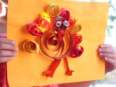 Quilled Turkeys