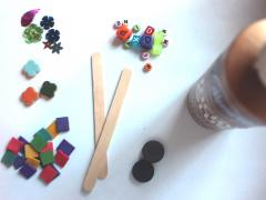 Craft Stick Magnets