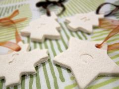 Salt Dough Gift Tags