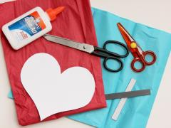 Magnetic Tissue Paper Hearts
