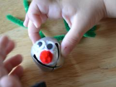 Reindeer Bell Necklace