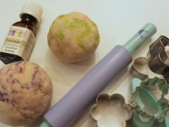 Scented Salt Dough Treasures