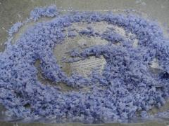 Purple and Lavender Scented Sensory Rice