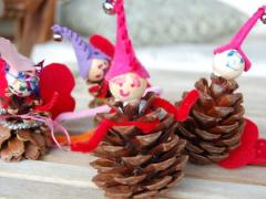 Pine Cone Fairy Family