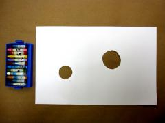 Paper + Crayons = Negative Space Drawing
