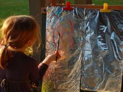 Aluminum Foil Art