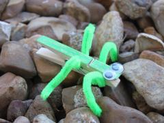 Clothespin Grasshopper