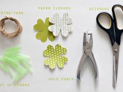 Clover Leaf Lei