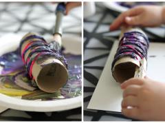 String Roller Print