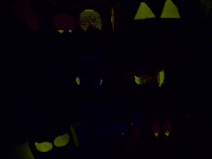 Glow Stick Halloween Eyes