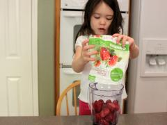 North Pole Strawberry Smoothie