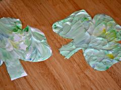 Shaving Cream Shamrocks