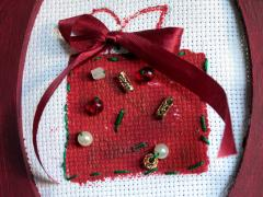 Beaded Holiday Art