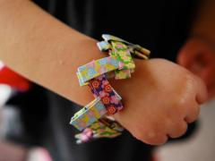 Origami Paper Bracelet
