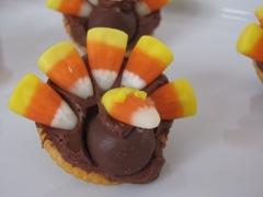 Candy Corn Turkeys