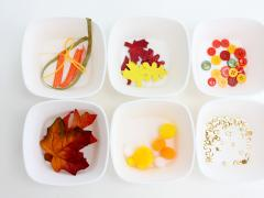 Fall Sensory Jar