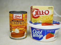 Whipped Pumpkin Fruit Dip