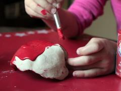 Heart-Shaped Clay Bowls