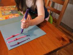 Pony Bead Counting Board
