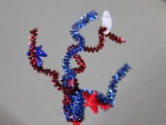 Sparkling Fireworks Pencil Topper