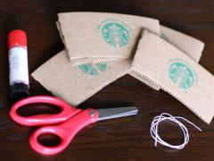 Coffee Sleeve Ornament