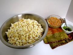 Stove-Popped Popcorn
