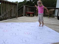 Giant Alphabet Mat