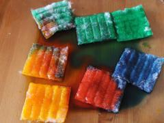 Cotton Square Tie-Dye Art