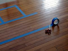 Indoor Skip-Count Hopscotch