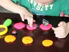 Be a Play Dough Detective
