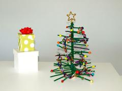 Pipe Cleaner Christmas Tree